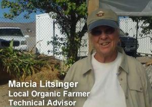 Certified organic farmer Marcia Litsinger