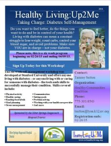 Taking Charge: Diabetes Self-Management