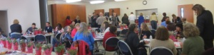 Healthy Communities' meetings bring representatives from local, state, federal and tribal groups together with community volunteers of all ages.