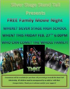 Join us for a free family movie night!