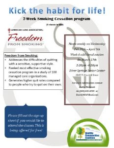 Tobacco Use Cessation Program