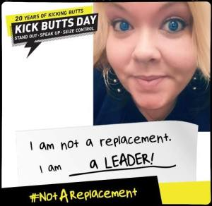 Create your own poster and tell us why you're not a replacement.
