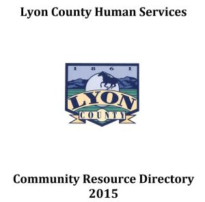 Lyon County Human Services' List of Area Direct Services 2015