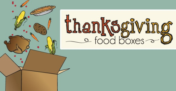 thanksgiving food boxes