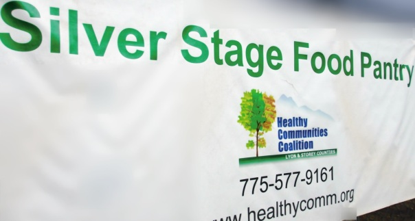 silver stage pantry sign