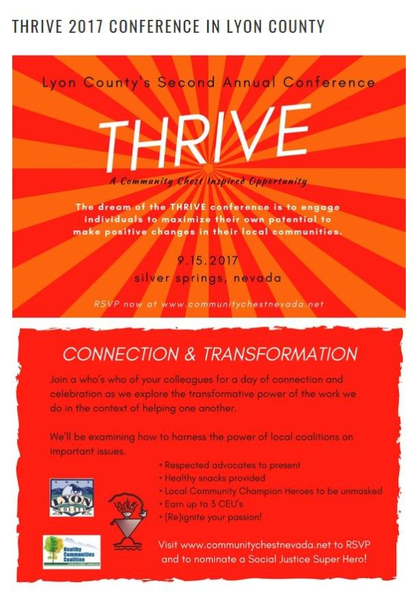thrive post card both sides