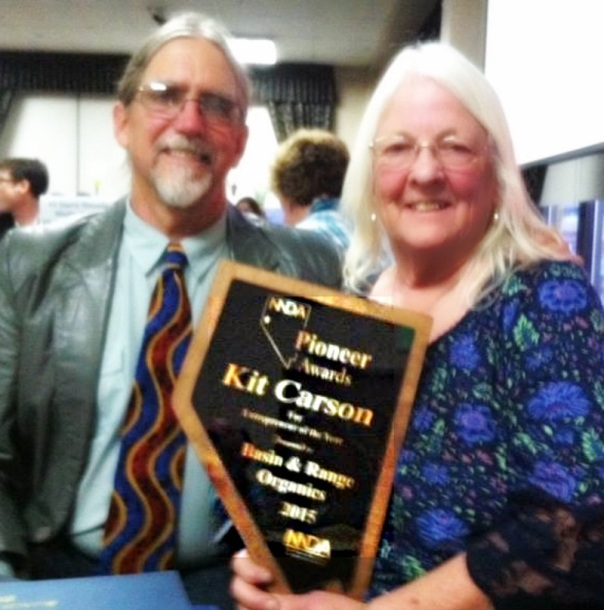 marcia and steve basin and range organics pioneer award