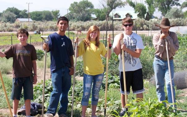 organic dayton community garden