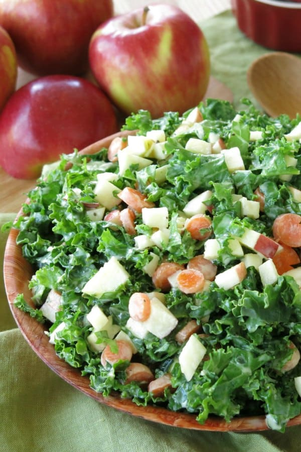 apples kale