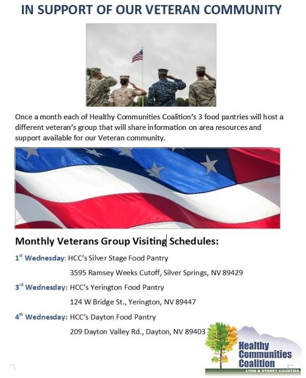 veterans group wednesdays